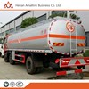 6x4 Fuel tank truck hydraulic oil tanker mobile gas station cng tank truck