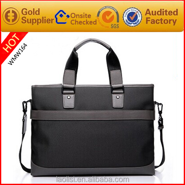 Waterproof nylon office messenger shouder handbag bag for men