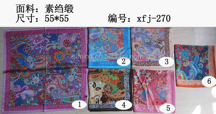 Popular discount new white silk scarf for painting