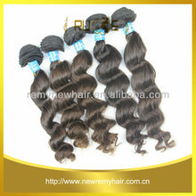 perfect after sale service and strick quality control system brazilian wavy hair extensions with the best price