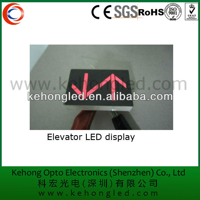 Elevators andFunicular Cars arrows led display