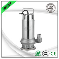 Irrigation with float switch industrial underwater stainless steel housing pump