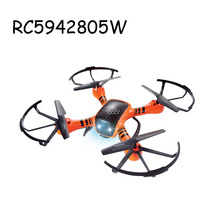 Hot sale 2.4G radio control 4-axis camera drones toy with WIFI real-time transmission RC5942805W