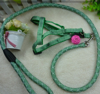 New 120cm Strong Dog Pet Lead Braided Rope Leash Nylon Dog Colorful Cord