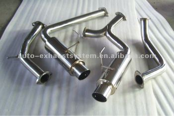 catback exhaust system for toyota