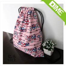 Shopping Websites Newest Natural Wind Cotton Muslin Drawstring Bag