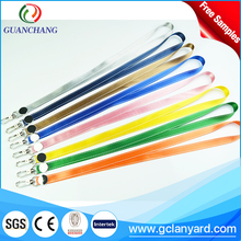 Free sample professional neck strap, lanyards printer with logo custom