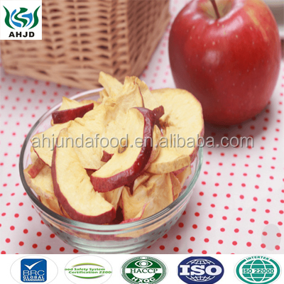 Factory Supply Vacuum Dried Apple Chips and Fruit Chips with Customer Logo