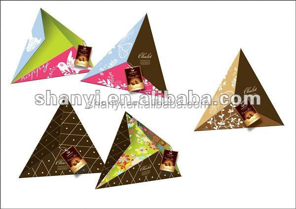 creative paper chocolate wedding gift boxes with reasonable price