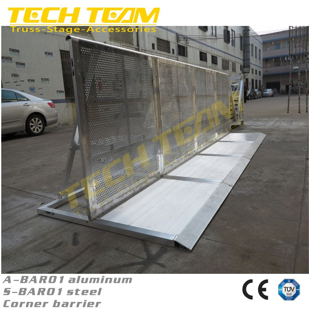 Traffic barrier/crashproof barrier/aluminum crowd control barrier