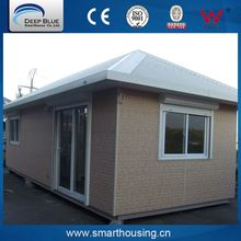 Total quality controlled mobile prefab home/one bedroom prefab house