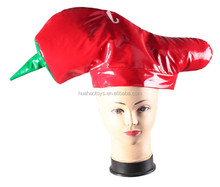 top selling creative hot pepper hat for halloween carnival dress