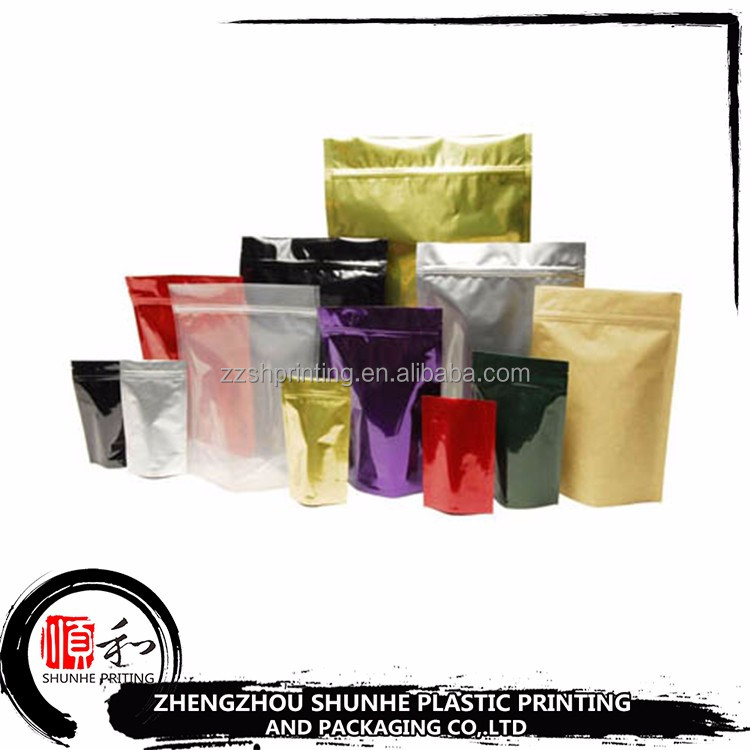 China manufacturer customized printing food grade foodstuff plastic packing bag