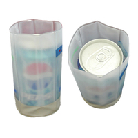 camping plastic cooler bottle ice bag