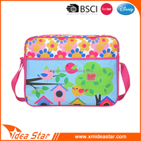China fujian manufacturer wholesale lovely print good quality fabric shoulder bag