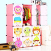 lovely pink diy modern bedroom furniture baby clothes cabinet