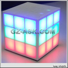 bluetooth portable magnetic speakers Modern Music LED Cube Bluetooth Speaker Portable China