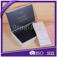 Customized flip top paperboard magnetic gift box