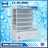 4 feet long milk display cooler for supermarket and convenience store