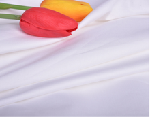100% cotton plain bleaching white fabric and textiles