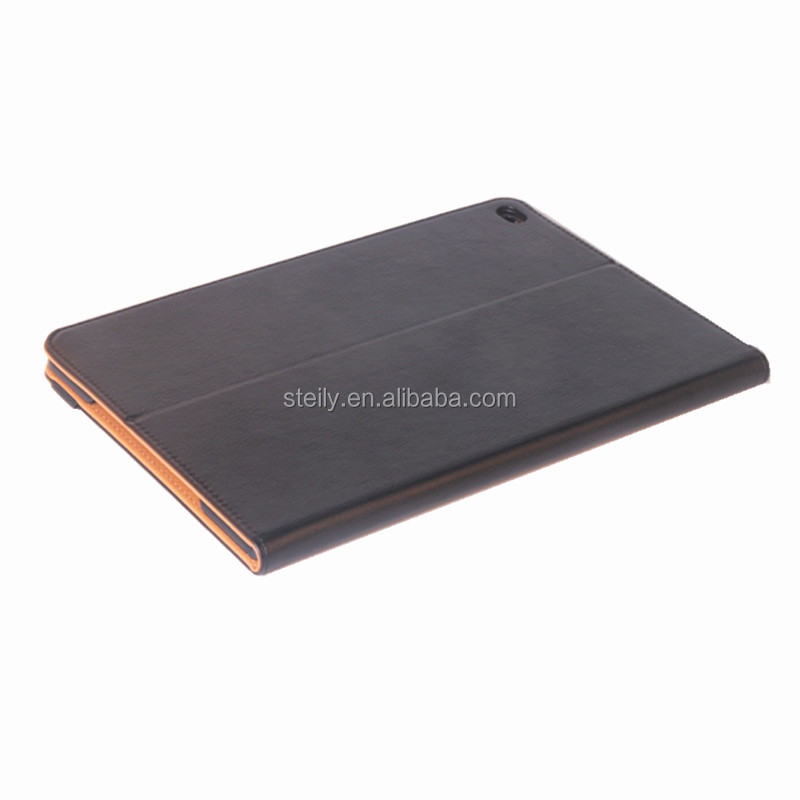 Wholesale Stand Back PC + PU Leather Smart Cover Case For iPad2/3/4