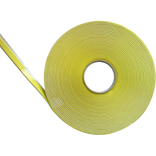 Double faced butyl rubber sealant tape for aerospace industry