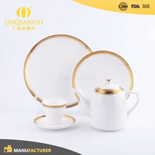Hot selling Top Grade luxury china porcelain dinner ware set high quality