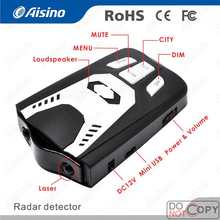 Car Auto Detection Speed Warning Led Display Auto Radar Detector Anti Police Laser Gun Radar