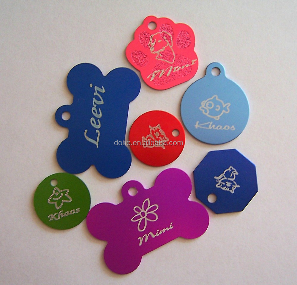 Hot sales metal sublimation blanks dog tag