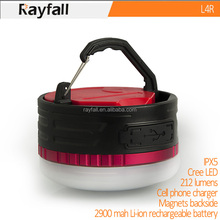 rayfall 2015 rechargeable magnet mini led hanging lantern