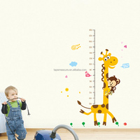 Birthday Giveaways Measuring Kids Height Wall Stickers