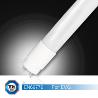 plug and play 24w 130lm/w EVG electronic ballasts compatible t8 tube light