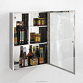 High quality low price stainless steel bathroom storage cabinet 7038