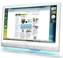 hot selling 18.5 inch all in one touchscreen pc white