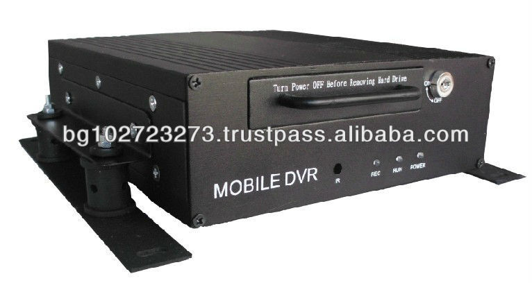 4CH D1 HDD Mobile DVR