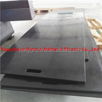 Ultra high molecular weight UHMWPE outrigger pads/crane outrigger pads