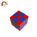 Cube puzzle toy wholesale wooden toy brain teaser