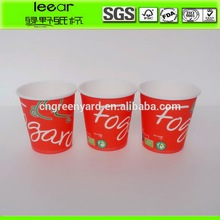 Recyle Muti Color ice cream shop paper cup raw material