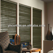 For House Study room Natural Elegance Wooden Blinds Timber Folding Basswood Venetian Window Blinds