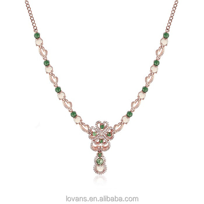 Beaded Necklace Diamond Necklace Designs Most Popular Products India