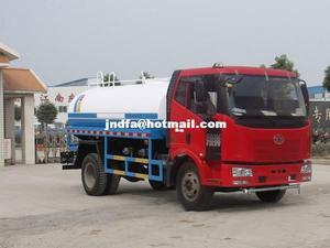 china supplier street water spray truck, Jiefang water truck, 4*2 sprinkler water tank truck