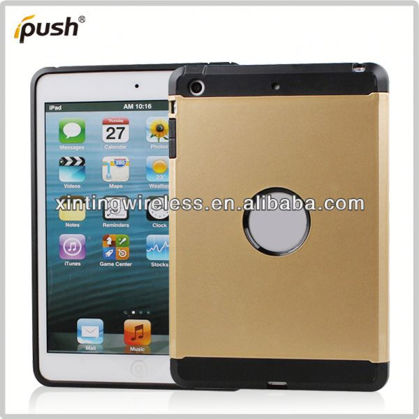 China Global Supplier cell phone case for ipad mini tpu pc combo case