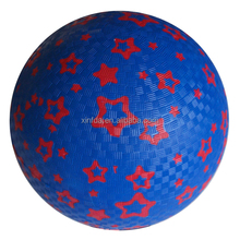 High quality soft touch high bouncy custom colorful inflatable rubber playground ball