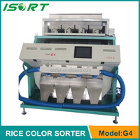 Huake Intelligent new Brown rice CCD color sorter machine/rice mill manufacturer in Hefei,China