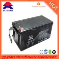 2015 Hot Sales lead acid battery type 12v sealed battery