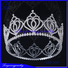 2017 Hot Sale Rhinestone Nice Pageant Crowns