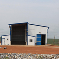 Prefabricated steel structure farm feed mill
