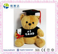 New design Graduation Bear Soft Bear Plush Toy