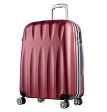 Wholesale various 3 size light weight ABS sky travel luggage bag