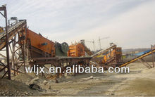 Popular WELLINE Designed Reliable Performace Stone Crushing and Screening plant